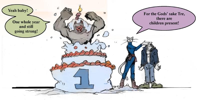 First Birthday Bash!